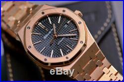 18k gold Audemars Piguet Royal Oak Offshore 15400OR. 00.1220OR. 01 mens watch 41mm