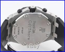 2019 Service Audemars Piguet Royal Oak Offshore 42mm Rubber White 25940 Watch