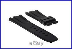 28mm Rubber Band Strap Fit 42mm Audemars Piguet Royal Oak Offshore Black #ro2