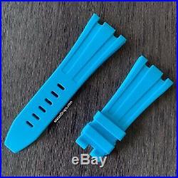 42mm Audemars Piguet Royal Oak Offshore & Diver Riviera Blue rubber strap