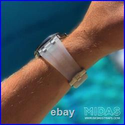 42mm Royal Oak Offshore Clear Transparent Rubber Watch Strap Audemars Piguet