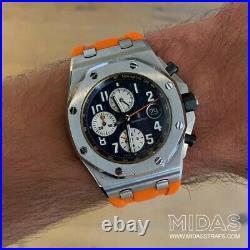 42mm Royal Oak Offshore & Diver Orange Rubber Watch Strap Audemars Piguet