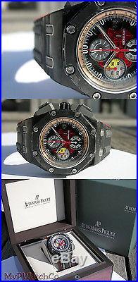 AP Audemars Piguet Royal Oak Offshore Chrono Grand Prix Black Red Carbon