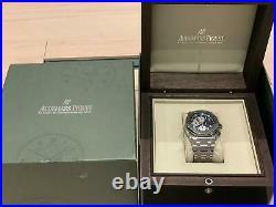 AUDEMARS PIGUET 25721ST Royal Oak Offshore Blue Dial Stainless Steel Watch 42mm