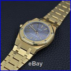 AUDEMARS PIGUET ROYAL OAK 4100 BA 18k Gold AUTOMATIC vintage SWISS Le Brassus