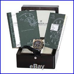 AUDEMARS PIGUET Stainless Steel Royal Oak Offshore Chronograph 26020 ST Warranty