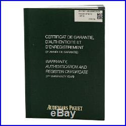 AUDEMARS PIGUET Stainless Steel Royal Oak Offshore Safari Chronograph 26170 ST
