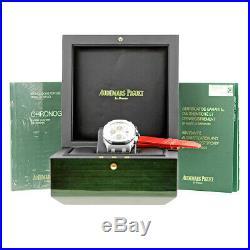 AUDEMARS PIGUET Steel 42mm Royal Oak Offshore Chronograph Panda Warranty 26170ST