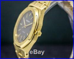 Audemars Piguet 14700BA Royal Oak Grey Dial 18k Yellow Gold 36MM With ORIGINAL BOX