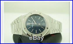 Audemars Piguet 15202ST. OO. 1240ST. 01 Royal Oak Extra-Thin 39mm Blue Index SS