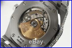 Audemars Piguet 41mm Royal Oak 15400ST. OO. 1220ST. 02 Stainless Steel Fully Iced O