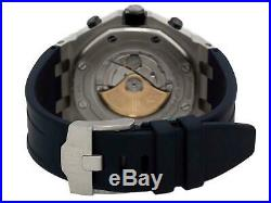 Audemars Piguet AP Royal Oak Offshore Blue Dial Mens Watch 26470ST. OO. A027CA. 01