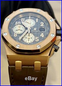 Audemars Piguet AP Royal Oak Offshore Chrono 18k Rose Gold 26470OR. 00. A125CR. 01