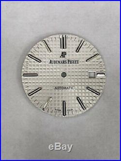 Audemars Piguet Authentic Royal Oak Matte White Dial For 15400ST. OO. 1220ST. 01