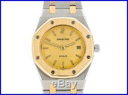 Audemars Piguet Classic Royal Oak Men Midi Size Steel & Gold Preowned Watch