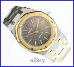 Audemars Piguet Royal Oak 14790SA Gray Dial 18K/Steel 35mm Automatic Wrist Watch