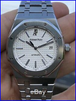 Audemars Piguet Royal Oak 15300 15300ST. OO. 1220ST. 01 2009 with box and papers