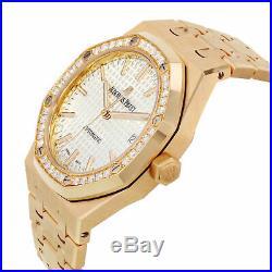 Audemars Piguet Royal Oak 15451or. Zz. 1256or. 01 18K Rose Gold Automatic Watch
