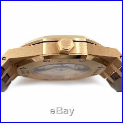 Audemars Piguet Royal Oak 18K Rose Gold Automatic 15400or. Oo. D088cr. 01