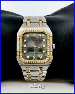 Audemars Piguet Royal Oak 18K YG/SS Diamonds watch