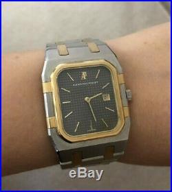 Audemars Piguet Royal Oak 18K Yellow Gold Stainless Steel Date Watch 30mm