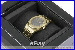 Audemars Piguet Royal Oak 18k (0,750) Gold Damenuhr Ref. 247028/1711 VP 34600