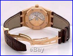 Audemars Piguet Royal Oak 18k Rose Gold 39mm Automatic Date 15300OR. OO. D002CR. 01