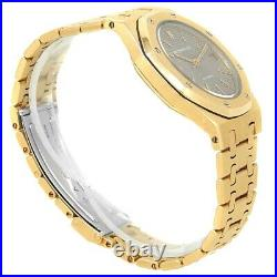 Audemars Piguet Royal Oak 18k Yellow Gold Automatic Grey Men's Watch 14790BA