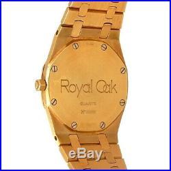 Audemars Piguet Royal Oak 18k Yellow Gold Quartz Men's Watch