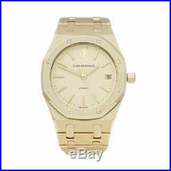 Audemars Piguet Royal Oak 18k Yellow Gold Watch 14700ba. Oo. 0789ba. 02 W5438