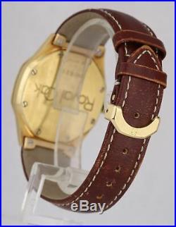 Audemars Piguet Royal Oak 36mm 18K Yellow Gold 14800BA Automatic Date Watch