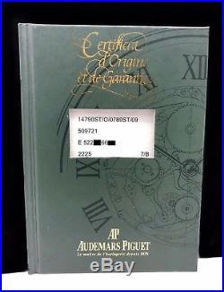Audemars Piguet Royal Oak 36mm Datum Edelstahl + Orig. AP Zertifikat