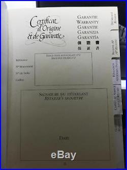 Audemars Piguet Royal Oak 39mm Blue Chrono Stainless 26300ST. OO. 1110ST. 03 Papers