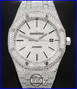 Audemars Piguet Royal Oak 41mm 20.75Ct Diamonds Pave Dial 15400st. Oo. 1220st. 01