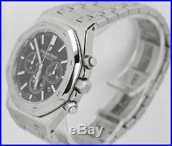 Audemars Piguet Royal Oak 41mm Chronograph Black Watch 26320ST. OO. 1220ST. 01