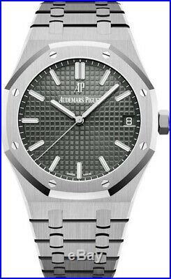 Audemars Piguet Royal Oak 41mm Grey Face Stainless Steel 15500ST. OO. 1220ST. 02