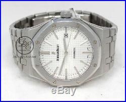 Audemars Piguet Royal Oak 41mm Silver Dial Watch 15400ST. OO. 1220ST. 02 MINT