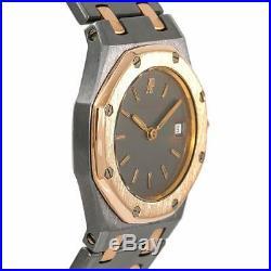 Audemars Piguet Royal Oak 59102 Womens Quartz Watch 18k Tantalum Rose Gold 26mm