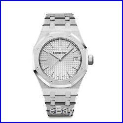 Audemars Piguet Royal Oak 67653BC. GG. 1263BC. 01 18K White Gold Quartz Watch