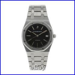Audemars Piguet Royal Oak Auto 34mm Steel Mens Bracelet Watch Date 4100ST