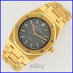 Audemars Piguet Royal Oak Automatic 18K Gold Bracelet Ladies Watch 30mm Mid-Size