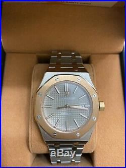 Audemars Piguet Royal Oak Automatic Bronze And Stainless Steel Wrist Watch WithBOX