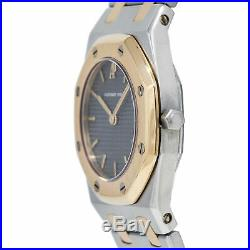 Audemars Piguet Royal Oak Automatic Lady's Watch 18K Two Tone Grey Dial 26mm