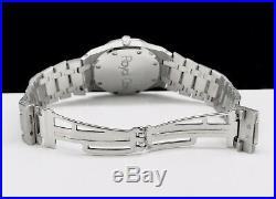 Audemars Piguet Royal Oak Blau 4100ST Stahl Automatik Datum Service 2016