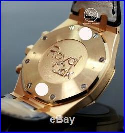Audemars Piguet Royal Oak Chrono 41mm 18K Rose Gold 26320or. Oo. D002cr. 01 B/PAPER