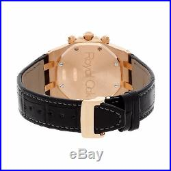 Audemars Piguet Royal Oak Chrono Rose Gold Auto Mens Watch 26022OR. OO. D088CR. 01