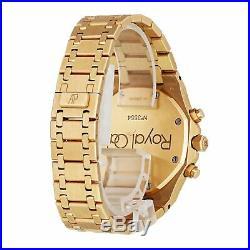 Audemars Piguet Royal Oak Chronograph 25960OR. OO. 1185OR. 02 Pink Gold Mens Watch