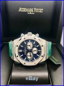 Audemars Piguet Royal Oak Chronograph 41mm 26331ST. OO. 1220ST. 01 BLUE DIAL