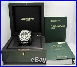 Audemars Piguet Royal Oak Chronograph 41mm B/PAPERS 26331st. Oo. 1220st. 02 NEW