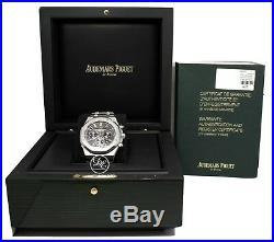 Audemars Piguet Royal Oak Chronograph 41mm Schwarz 26320st. Oo. 1220st. 01 Box